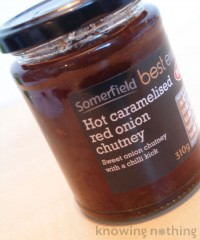 Hot Caramelised Red Onion Chutney